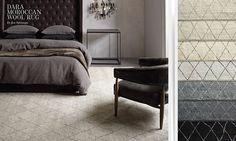 Beautifully luxurious oversized rug - Restoration Hardware.