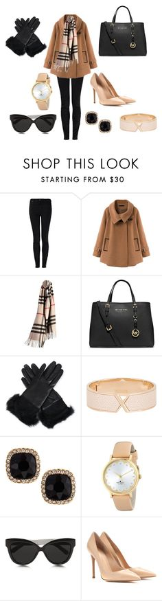 Designer Clothes, Shoes & Bags for Women New York Minute, Vivienne Westwood Anglomania, Linda Farrow, Ugg Australia, Polyvore Fashion, Uggs, Amanda, Burberry, Kate Spade