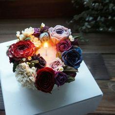 Flower cake #koreancake #앙금플라워케이크 #buttercream #peonies #tulip #flower #wilton…