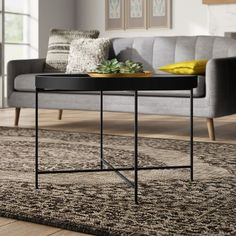 Mistana™ Izabella End Table & Reviews | Wayfair Black Coffee Tables, Round Coffee Table, Yellow Area Rugs, White Area Rug, Blue Area, Papasan Chair, Outdoor Area Rugs, End Tables, Bar Stools