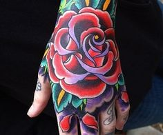 Hell Yeah Hand Tattoos | Tattoo'd Lifestyle MagazineTattoo'd Lifestyle Magazine |
