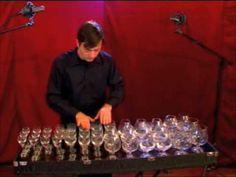 wine glass music-glass harp Hungarian dance No. 5-Brahms