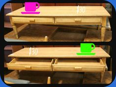 Looking for a coffee table? CSU Surplus Property Store has you covered with this great table for just $15!
