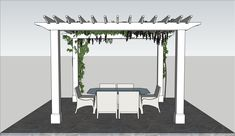 Kineo Wood Pergola Kit Wood Pergola Kits, Building A Pergola, Privacy Panels, Build Something, Flowering Vines, Design Consultant, Beams, Outdoor Living, Maine