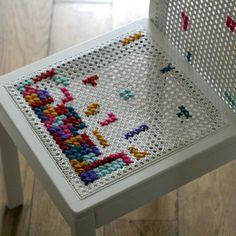 DIY Tetris chair