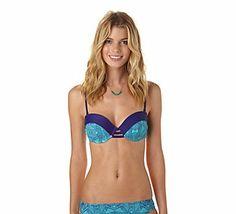 397eafaf63 Women's Roxy Bali Tide Bustia | Scheels Roxy Surf, Women Lifestyle, Swim Top ,