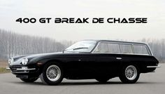 Lamborghini 400 GT 2+2 shooting break , break de chasse