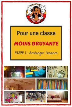 Pour des élèves moins bruyants dans une classe moins bruyante - Etape 1 - Maîtresseuh School Organisation, Classroom Organization, Classroom Decor, Classroom Management, Teaching Materials, Teaching Tools, Teaching Resources, Teaching French, Teaching English
