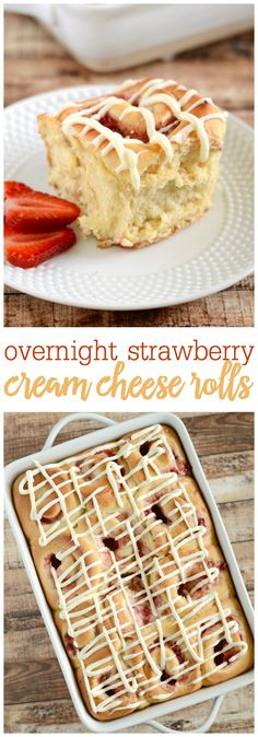 Overnight strawberry