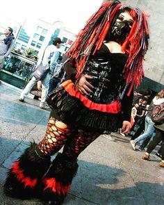 Goth Subculture, Cybergoth, Big Love, Gothic Girls, Alternative Fashion, Gothic Fashion, Cyberpunk, Sexy, Archive