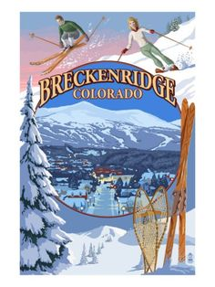 Crested Butte, Colorado - Ski Montage - Lantern Press Artwork (Art Print Available) Wyoming, Steamboat Springs Colorado, Skiing Colorado, Gunnison Colorado, Pagosa Springs, Colorado Winter, Colorado Usa, Colorado Rockies, Montage Art
