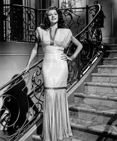 Rita Hayworth (in Gilda [in my favorite dress of all time.])