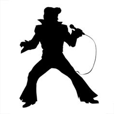 silhouettes of elvis - Google Search