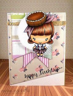 Inky Fairy Designs: Birthday Greetings: The Greeting Farm + Copics