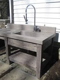Image result for concrete outdoor sink