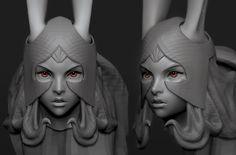 ArtStation - Fran: Final Fantasy XII , Jon Troy Nickel