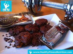 Questbar Rezept Serie: Protein Cookies Rezept (Chocolate Chip Cookie Dough)