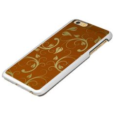 Gold Floral On Gold Pattern Incipio Feather® Shine iPhone 6 Plus Case. Click to see more gold iPhone 6 plus cases http://www.zazzle.com/cuteiphone6cases/gold+iphone+6+plus+cases?ps=120&qs=gold%20iphone%206%20plus%20cases&dp=252519169581922263&pg=4&rf=238478323816001889&tc=goldiphone6pluscases #goldiphone6pluscase #iphone6pluscase #iphone6plus