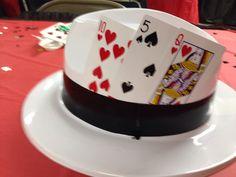 Centerpiece idea for casino party