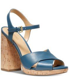 a9a6f5e50151 Michael Michael Kors Alexia Platform Sandals - Green 5M