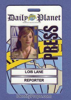 Lois Lane press pass