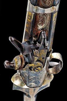Combination Dagger and Pistol – Dated: circa 1800 – Provenance: Ottoman Empire