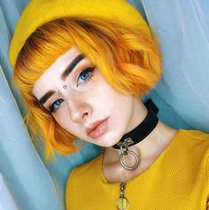 My skin tone wouldn't match yellow hair but gosh I love it