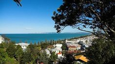 hawkes bay in napier, new zealand
