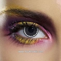 Witch Doctor Contact Lenses (Pair) these would be really cool with the black and blue ones