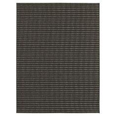 Ebony Stripe Outdoor Rug - Smith & Hawken™