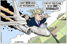 Wolverton - Cagle Cartoons - Trump Disregards Voter Data 5/17/16