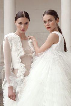 http://www.annakania.de #Couture #White