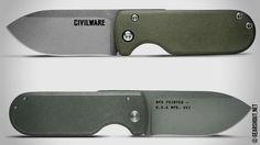 Civilware выпустила новый складной рабочий нож Civilware Pointer