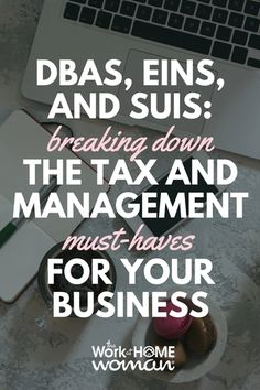 DBAs, EINs, and SUI - What does it all mean, and do I need it? Here's what work-from-home entrepreneurs need to know about these terms and the effects they can have on your business. Successful Home Business, Legal Business, Creating A Business, Home Based Business, Creative Business, Business Tips, Online Business, Business Marketing, Business Planner