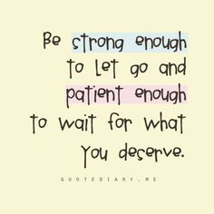 strong & patient