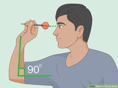 How to Throw Darts (with Pictures) - wikiHow Play Darts, Darts Game, Steampunk Corset, Steampunk Necklace, Rocket Heater, Is It Okay, Bra Pattern, Travel Humor, Celebration Quotes
