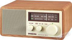 Sangean WR-11 Wood Table Top Hi-Fi Radio Analog Controls - $100