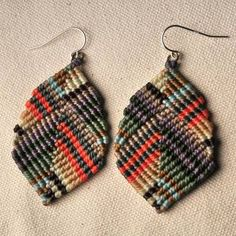 Friendship Bracelet Earrings