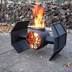 "A Bachelor & His Grill (@bachelorsgrill) on Instagram: ""Coolest grill in the Galaxy??! May the force be with you, my fellow Jedi!! ✨✨✨✨ . Handcrafted…"""