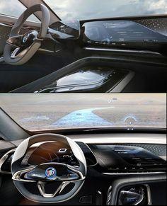 Buick-Enspire-Concept-2018 UX / UI Cluster Multimedia