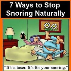 Sleep apnea remedies: 7 ways to stop snoring naturally The Snorex anti-snoring mouthpiece review here http://www.thequiettwo.com/snorerx/