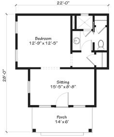 Looking for the best house plans? Check out the Whiteside Cottage plan from Southern Living. Cottage House Plans, Cottage Living, Cottage Homes, Cute Small Houses, Little Houses, Tiny Houses, Farm Plans, Farmhouse Plans, Best House Plans