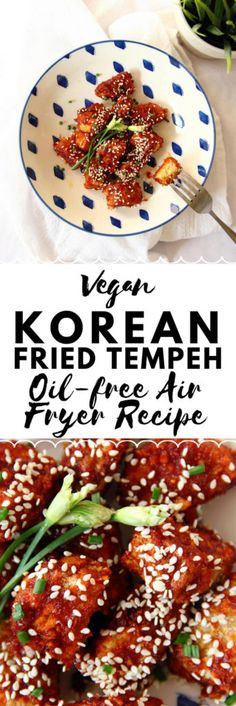 Vegan Korean Fried T
