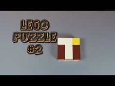 Another LEGO Puzzle for you to try - YouTube