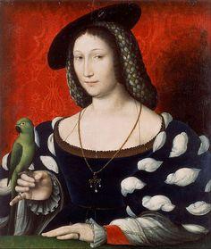 Jean Clouet - Marguerite d'Angoulême