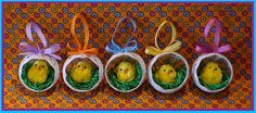 Háčkované kukaně s kuřátky Halloween, Watermelon, Diy, Easter, Fruit, Crochet, Blog, Noel, Seasons