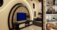 Decorare perete televizor in living