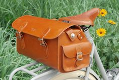 a bike bag for carrying your maps, camera, or sketchbook