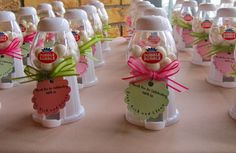 Engagement Party Favors with Personalized Tags