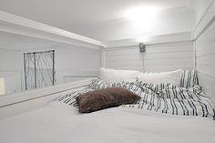 habitaciones modernas en color blanco
